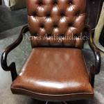 cadeira inglesa giratoria